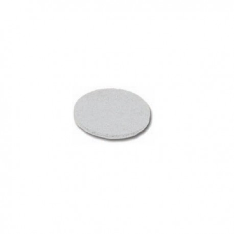 Disco abrasivo blanco