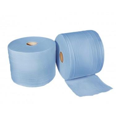 Rollo papel mecánico azul